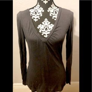 The Limited Gray cotton madol blend size small Tee